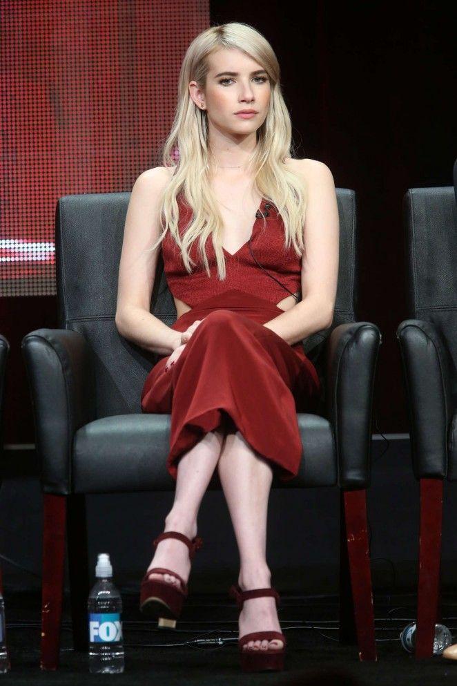 Emma Roberts - 'Scream Queens' Panel 2015 Summer TCA Tour in Beverly Hills