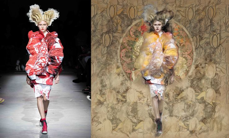 #digital #art #fashion #illustration by #hannekevandepol