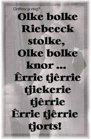 Image result for kleuter verse afrikaans