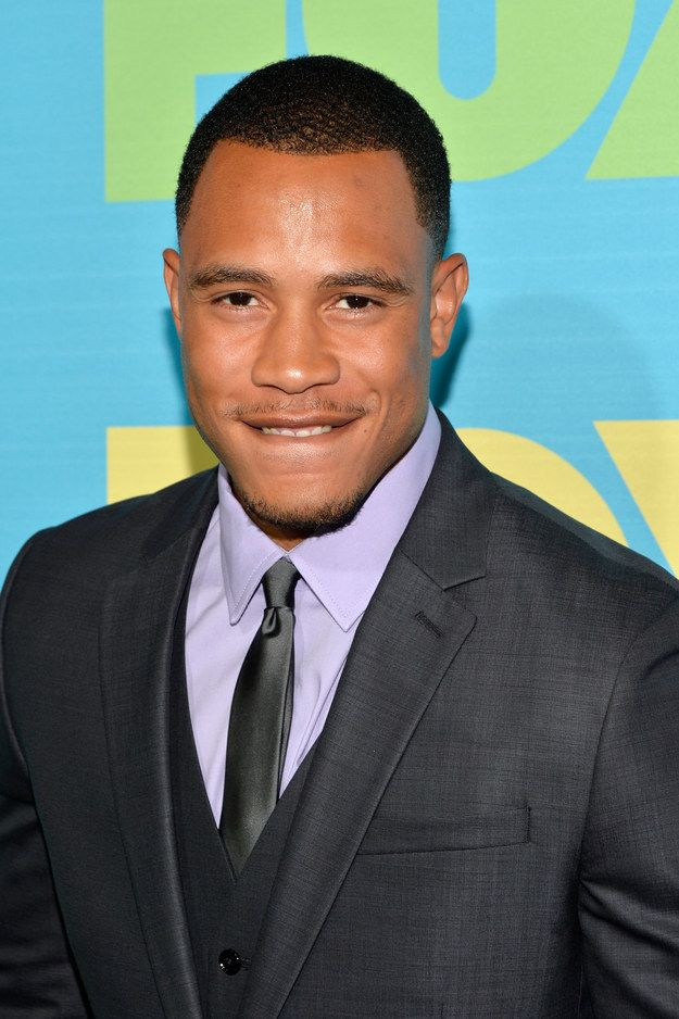 He'll bite his lip and make your body quiver.   Trai Byers' Hotness Is A Lion And You Are Merely His Prey