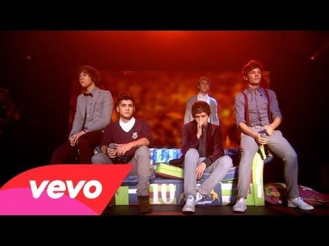 One Direction - More Than This (Up All Night: The Live Tour) this is really good this is making me cry