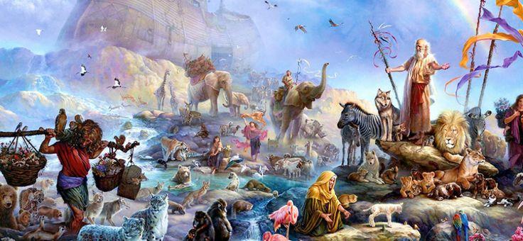 Kuran'da Müminlerin Hz. Nuh (as)'ın Gemisine Binmesi