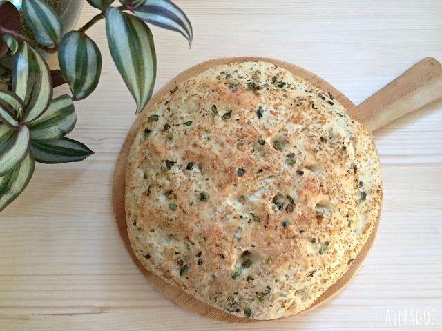 AynaGöz.: Kekikli, Sarımsaklı Ekmek