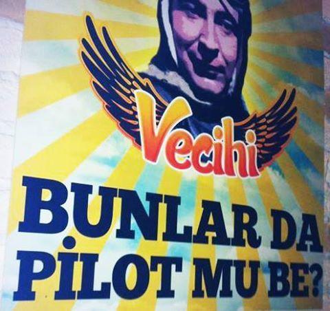 Bunlar da pilot mu be? #Vecihi