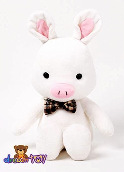 You're Beautiful Kdrama Pig Rabbit Plush  For Rachel