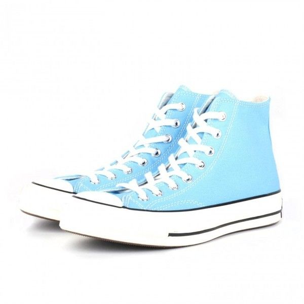 Converse Chuck Taylor 1970s Hi (Heritage Blue) (81 AUD) ❤ liked on Polyvore featuring men's fashion, men's shoes and shoes