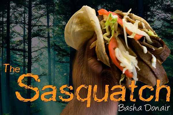 Basha_Donair and Shawarma in Greater Edmonton has the legendary Sasquatch