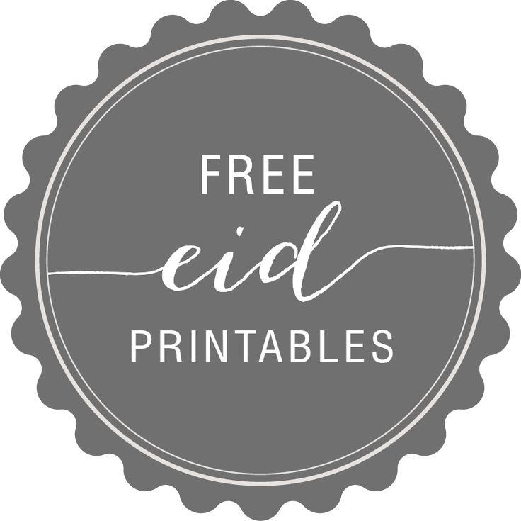 In My Studio Free Eid Gift Tags Eid Gifts Ramadan
