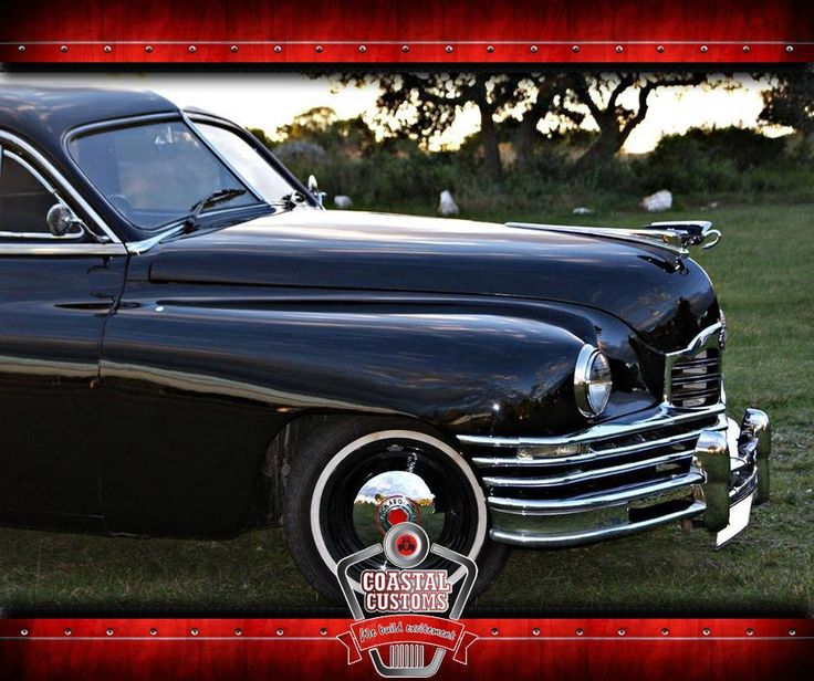 It's reported that fewer than 50 of these sleek Packard Limousines were manufactured and only built for special customers. This specific Limo, for example, was a states vehicle to the late South African Minister C.R. Swart, restored to perfection and one eloquent automobile. Click on the link to see more http://asite.link/31o. #1948PackardLimousine #CoastalCustoms #customcars