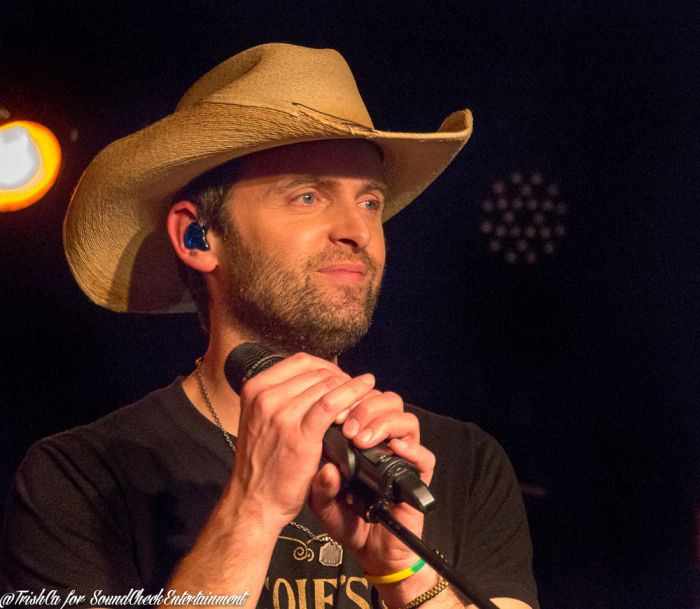 Dean Brody CD Release Party for Gypsy Road at Boots and Bourbon in Toronto.