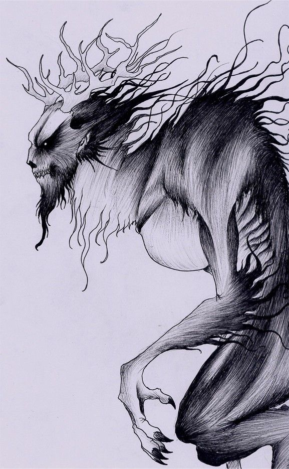 "The Wendigo is a cannibalistic beast from Native American folklore and legend. The word ""Wendigo"" (pronounced wehn-dee-go) comes from the Native American Algonquian language, meaning ""evil spirit that devours mankind."""