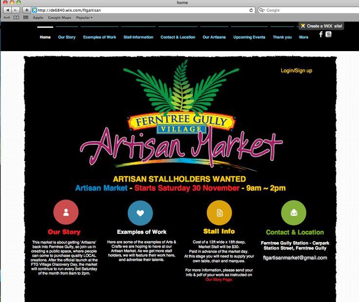http://de6840.wix.com/ftgartisan Home page of our website by Debbi Douglas 2013