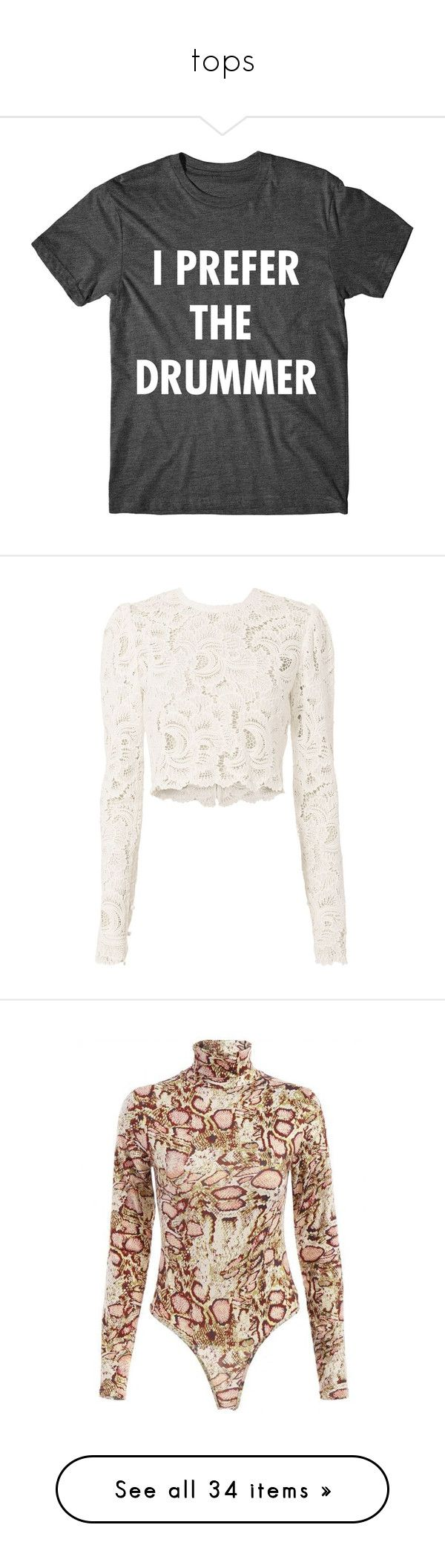 """""""tops"""" by ellesay ❤ liked on Polyvore featuring tops, t-shirts, shirts, black, women's clothing, graphic t shirts, sleeve t shirt, metallic gold shirt, graphic print t shirts and metallic gold t shirt"""