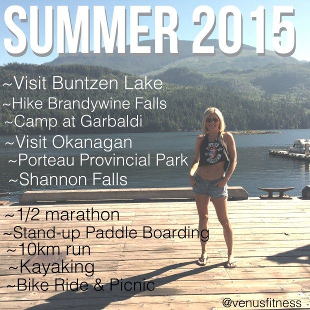 2015 Summer to do list So here is my Summer of 2015 To-Do-List, follow me on Instagram for updates, and stay tuned for my end of summer blog recap. #ToDoList #Goals