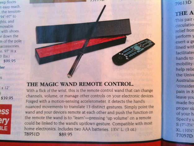 The Magic Wand Remote Control | 30 Things You Need To Buy After You Win The Lottery