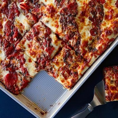Throw the Best Damn Pizza Party Ever with This Grandma Pizza