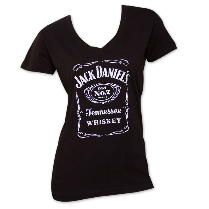 Women's Jack Daniels V-Neck T-Shirt