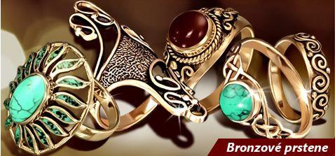 bronzove prstene