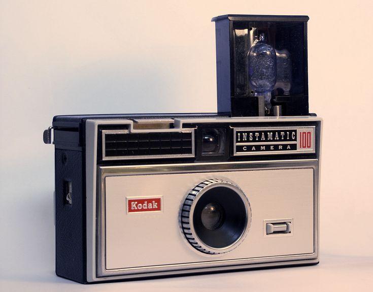 My 1st camera,1964. Tiny blue flashbulbs burned fingers! {GM}