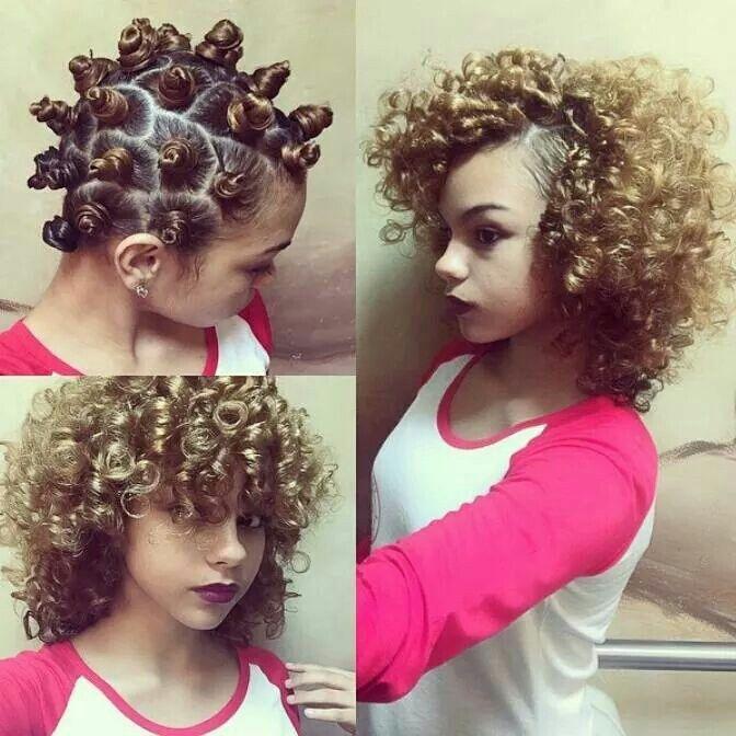 Zulu curls  Prep: brilliant damage control Style: brilliant confixer Finish: brilliant spray on shine
