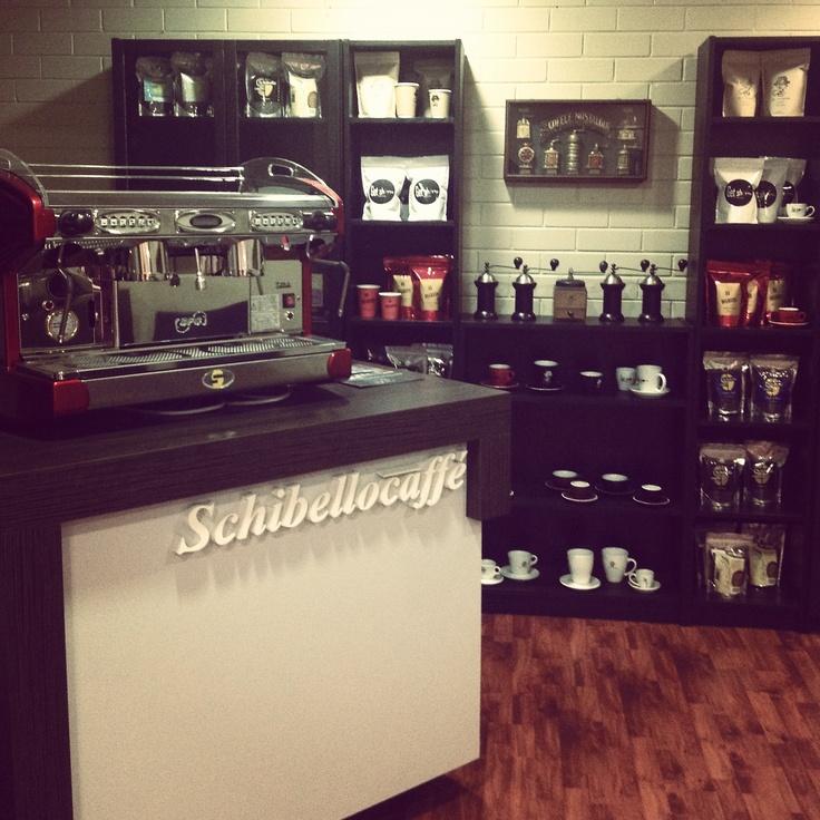 One of our premium coffee machines. Schibello caffe display room    www.schibellocaffe.com