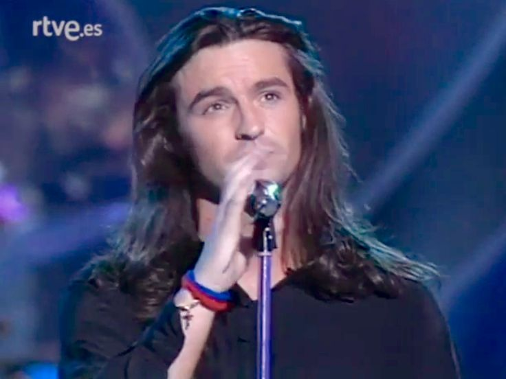 Marti Pellow on Spanish TV (with Wet Wet Wet)