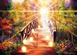 Beauty of a spiritual bridge