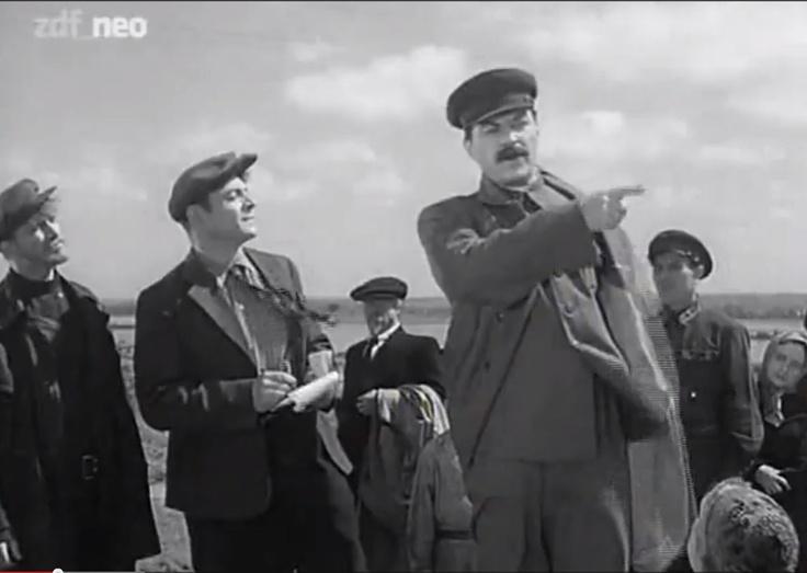 """Josef Stalin: Mikheil Gelovani in """"Pitsi"""" http://www.imdb.com/title/tt0038673/"""