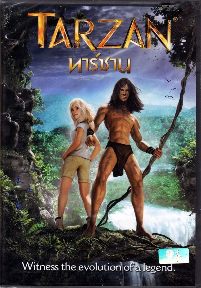 Tarzan 2013 Kellan Lutz Robert Capron Jaime Ray Newman Animation R0 DVD | eBay