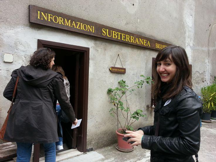 Alessandra Poce a Narni Sotterranea. Una delle amiche girovaghe dell'Umbria #umbrians