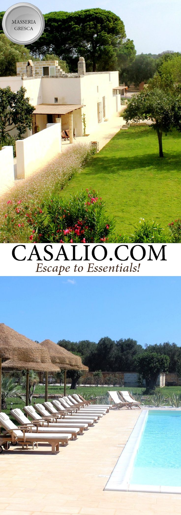 Masseria Gresca || Italy - Puglia || 7 bedroons, pool…