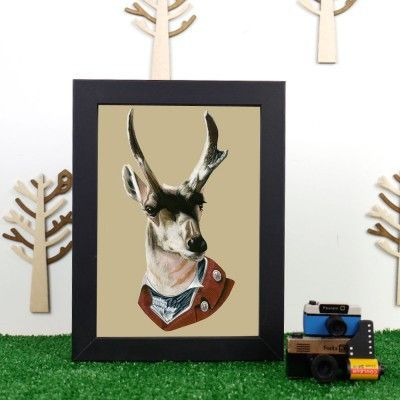 Ryan Berkley Buck Framed Print
