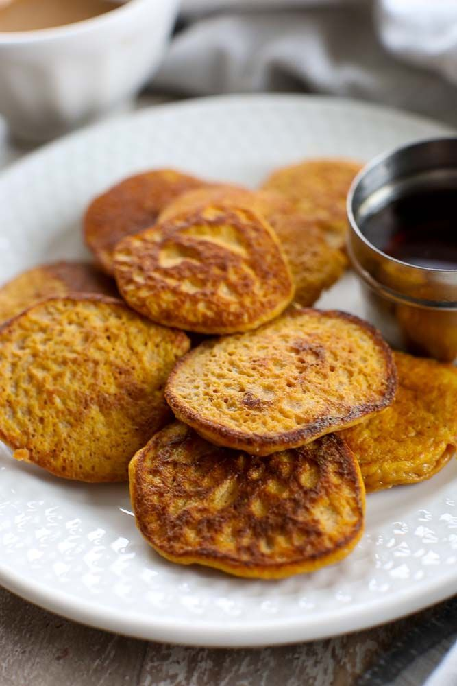 2-ingredient Sweet Potato Pancakes {gluten-free, dairy-free, nut-free}