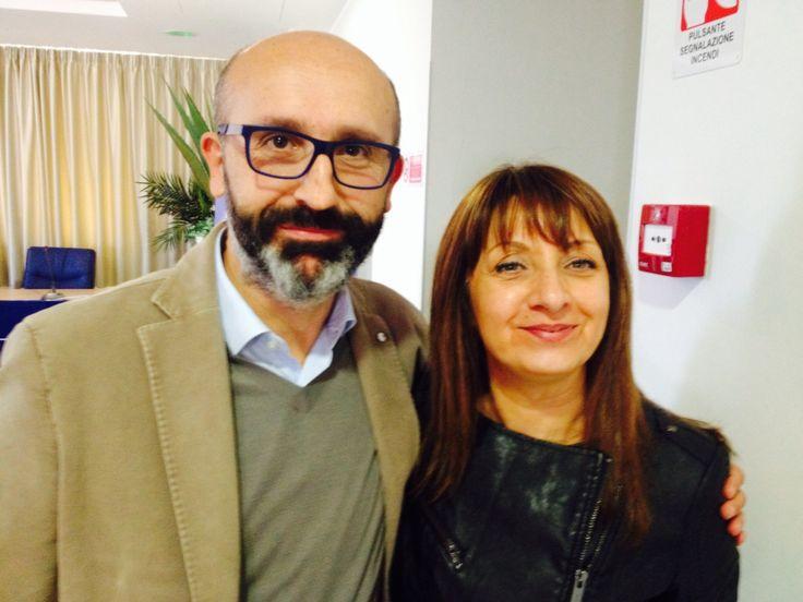 Pierluigi Marzocchi e Manuela Boncompagni