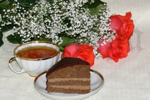 Chocolate cake from childhood