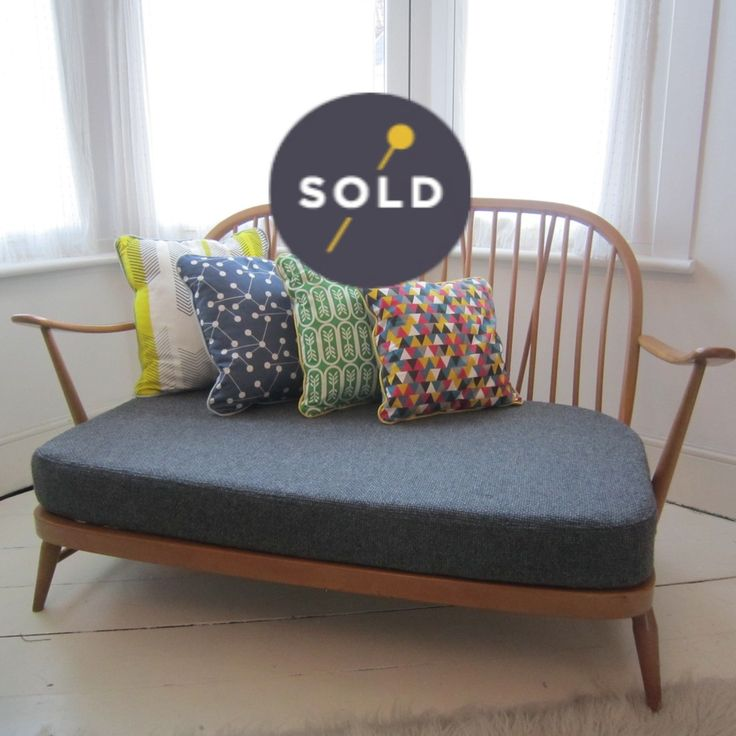 Ercol Sofa: more shameless self-promotion