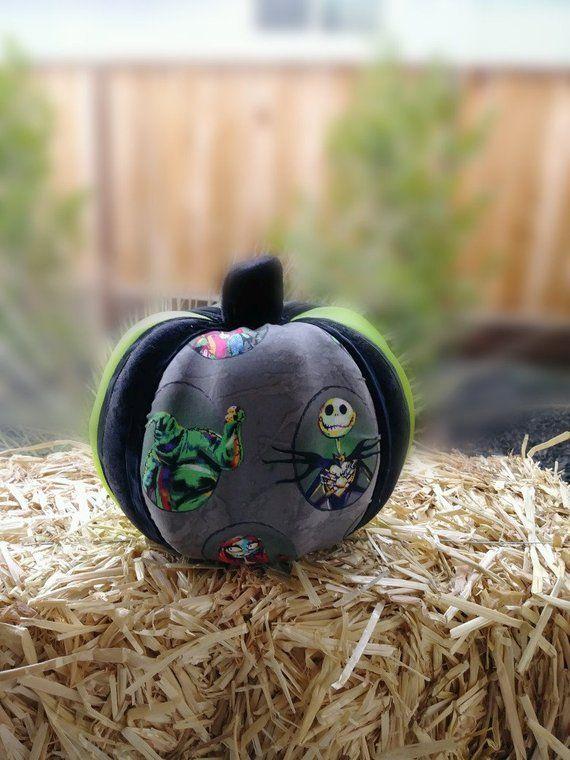 Nightmares Before Christmas Pumpkin Halloween Home Decor