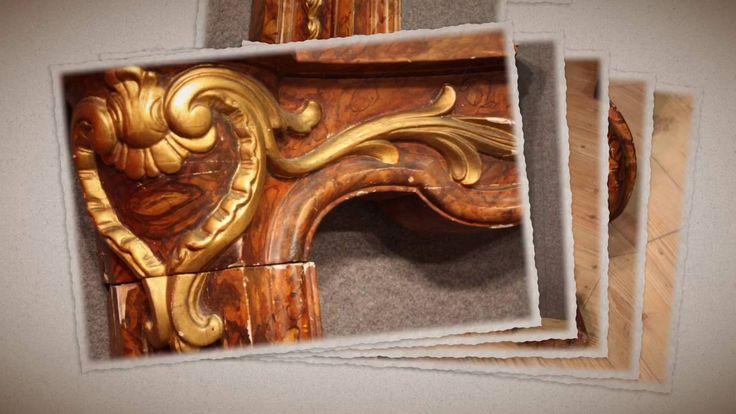 Italian fireplace wood of the 19th century #antiques #antiquariato #furniture #antiquaires #homedecoration #interiordesign #antiquario #fireplace #camino