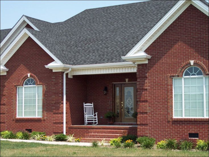 Best Image Detail For White Trim A Dark Grey Roof And Deep Red 400 x 300