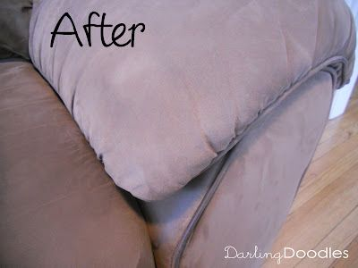 Cleaning Microfiber Sofas - Darling Doodles | Darling Doodles