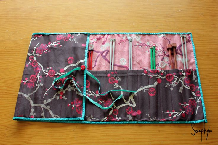 Seraphym Handmade: Knitting Needle Wrap
