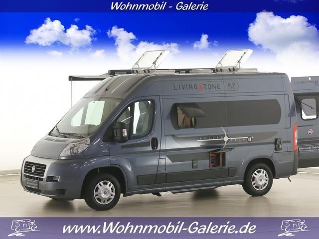 Roller Team Livingstone K2 Klima, 5,41m lang, Wohnwagen/-mobile Kastenwagen in Hohenaspe, gebraucht kaufen bei AutoScout24 Trucks