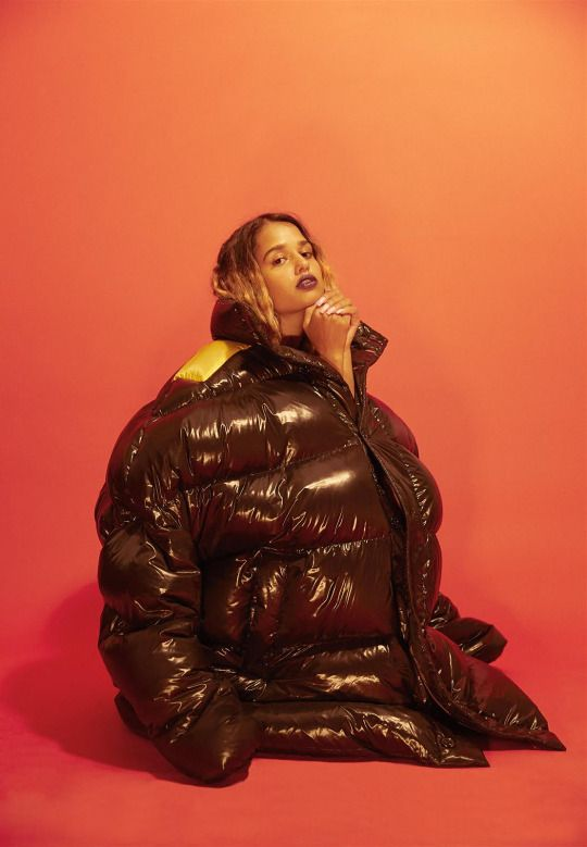 Tommy Genesis in Raf Simons, photographed by Eric Chakeen