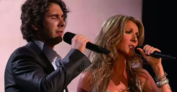 Josh Groban and Celine Dion Sing A Heavenly Duet Of 'The Prayer'