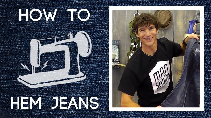 How to Hem Pants: Easy Sewing Tutorial with Rob Appell of Man Sewing