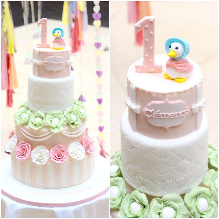 Beatrix potter Peter rabbit jemima puddleduck cake! Beautiful cake made for my…