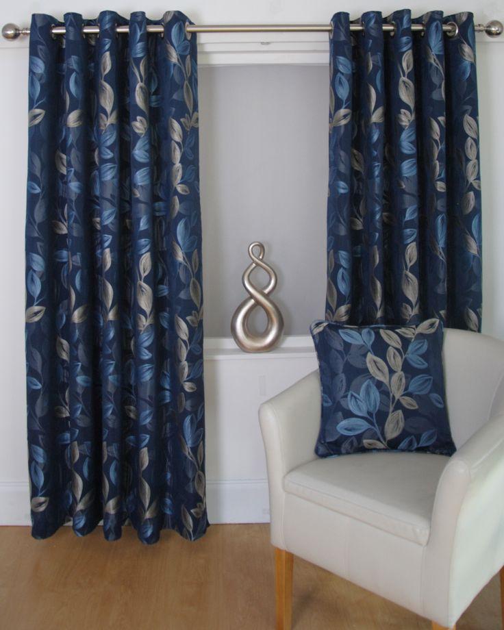 Heidi - blue absolutely stunning curtains