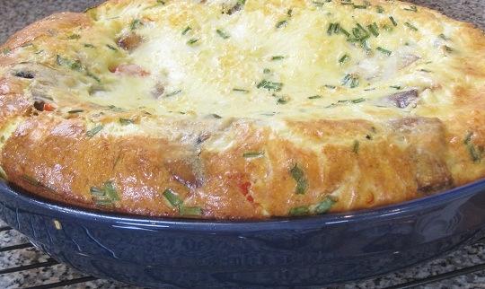 Vegetable and Pecorino Frittata | bread | Pinterest