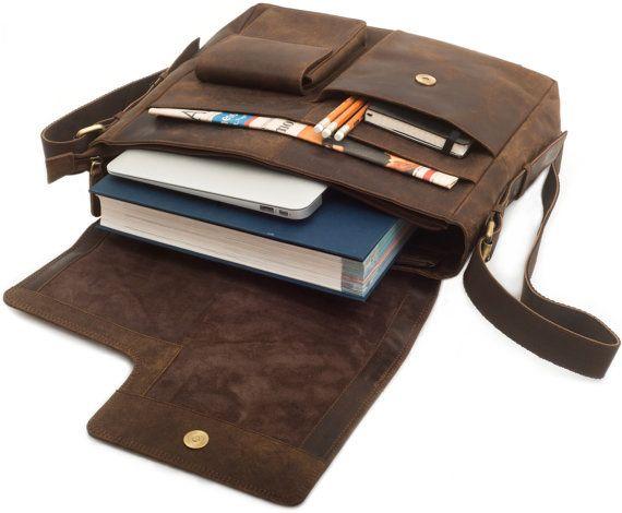 Leather Shoulder Bag crossbody Satchel Women by noveltyArt61