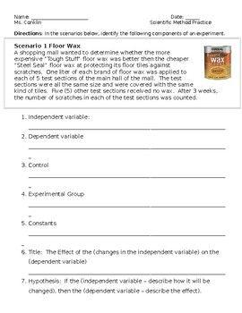 Free Scientific Method Printable Worksheet Scientific Method Worksheet Scientific Method For Kids Scientific Method Printable